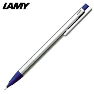 シャーペン 高級 名入れ ラミー ロゴ ステンレス ペンシル ブルー L105BL|nomado1230