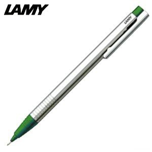 シャーペン 高級 名入れ ラミー ロゴ ステンレス ペンシル グリーン L105GN|nomado1230