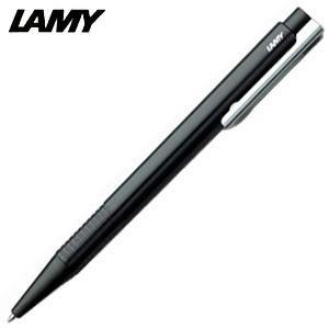 高級 ボールペン 名入れ ラミー ロゴ logo プラスティック ボールペン ブラック L204BK|nomado1230