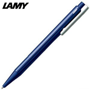 高級 ボールペン 名入れ ラミー ロゴ logo プラスティック ボールペン ブルー L204M-BL|nomado1230