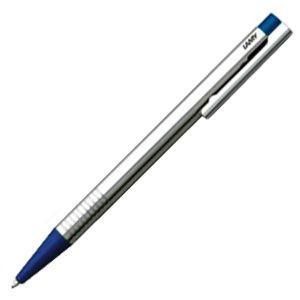高級 ボールペン 名入れ ラミー ロゴ ステンレス ボールペン ブルー L205BL|nomado1230