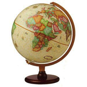 地球儀 インテリア リプルーグル カーライル型 照明付き 卓上地球儀 英語版 No. 83502 nomado1230