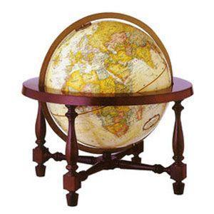 地球儀 インテリア リプルーグル クラシック 球径30センチ コロニアル型 インテリア地球儀 日本語版 No. 31772 nomado1230