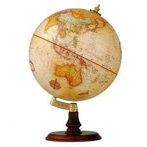 地球儀 インテリア リプルーグル クラシック 球径30センチ クランブルック型 インテリア地球儀 英語版 No. 31400 nomado1230