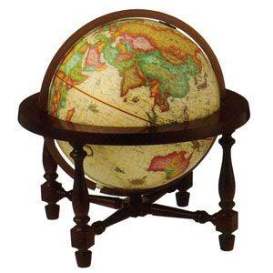 地球儀 インテリア リプルーグル ジェームス・ウィルソン型 照明付き 卓上地球儀 日本語版 No. 83772 nomado1230