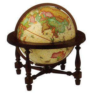 地球儀 インテリア リプルーグル ジェームス・ウィルソン型 照明付き 卓上地球儀 英語版 No. 83703 nomado1230