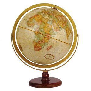 地球儀 インテリア リプルーグル クラシック 球径30センチ ラ・グレンジ型 インテリア地球儀 英語版 No. 31804 nomado1230