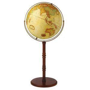 地球儀 インテリア リプルーグル クラシック 球径40センチ 英語版 コモドールII型 高級大型地球儀 No. 22839 nomado1230