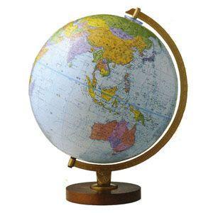 地球儀 インテリア リプルーグル ワールド・ネイション 球径30センチ 日本語版 エンデバー型 インテリア地球儀 No. 30573 nomado1230