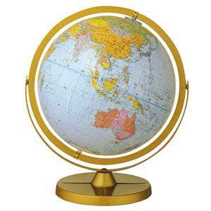 地球儀 インテリア リプルーグル ワールド・ネイション 球径30センチ 日本語版 チャレンジャー型 インテリア地球儀 No. 30872 nomado1230