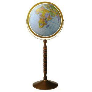地球儀 インテリア リプルーグル ワールド・ネイション 球径30センチ 日本語版 トレジャリー型 インテリア地球儀 No. 30873 nomado1230
