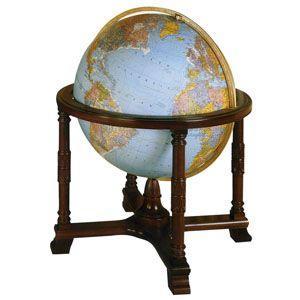 リプルーグル 球径81センチ ディプロマット型 英語版 高級大型地球儀 No. 65307|nomado1230
