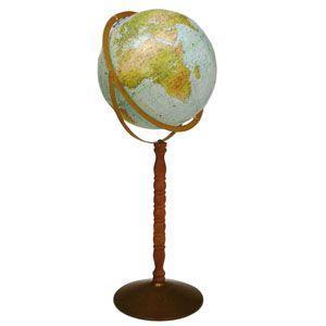 地球儀 インテリア リプルーグル オーシャン 球径30センチ シーフェアラー型 インテリア地球儀 日本語版 No. 33873 nomado1230