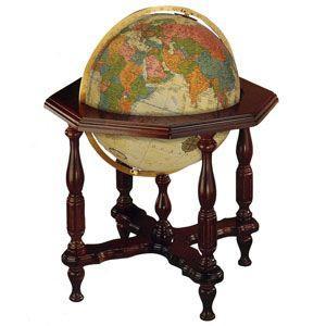 地球儀 インテリア リプルーグル ステイツマン型 球径50センチ 英語版 照明付き 高級大型地球儀 アンティーク No. 65007|nomado1230