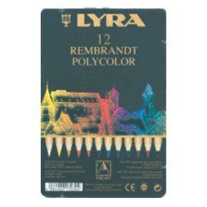 リラ(LYRA) レンブラント ポリカラー 12色セット (メタルボックス) No. 2001120|nomado1230