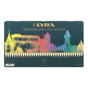 リラ(LYRA) レンブラント ポリカラー 36色セット (メタルボックス) No. 2001360|nomado1230
