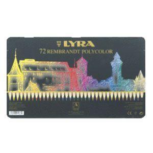 リラ(LYRA) レンブラント ポリカラー 72色セット (メタルボックス) No. 2001720|nomado1230