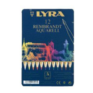 リラ(LYRA) レンブラント アクアレル 12色セット (メタルボックス) No. 2011120|nomado1230