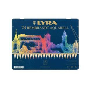 リラ(LYRA) レンブラント アクアレル 24色セット (メタルボックス) No. 2011240|nomado1230