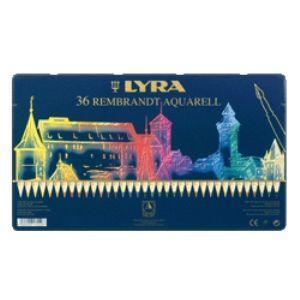 リラ(LYRA) レンブラント アクアレル 36色セット (メタルボックス) No. 2011360|nomado1230