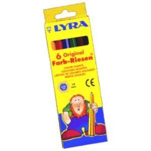 リラ(LYRA) カラー ジャイアント 6色(普通色)セット (紙箱入り) No. 3941060|nomado1230