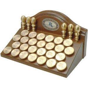 シーリングワックス ルビナート 真鍮製シール A イニシャル 946A|nomado1230