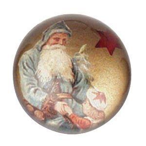 ペーパーウェイト おしゃれ ルビナート クリスマスライン 半球型 ゴールド ペーパーウェイト ミディアム PWM-MC/02|nomado1230