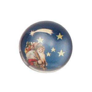 ペーパーウェイト おしゃれ ルビナート クリスマスライン 半球型 ブルー ペーパーウェイト スモール PWS-MC/01|nomado1230