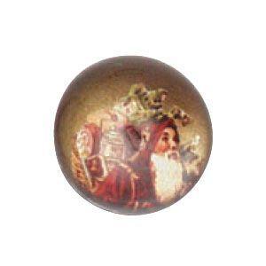 ペーパーウェイト おしゃれ ルビナート クリスマスライン 半球型 ゴールド ペーパーウェイト スモール PWS-MC/02|nomado1230