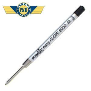 替芯 ボールペン 油性 レトロ51 油性ボールペン替芯 SCHMIDT EASY FLOW 消耗品 ブラック REF71|nomado1230