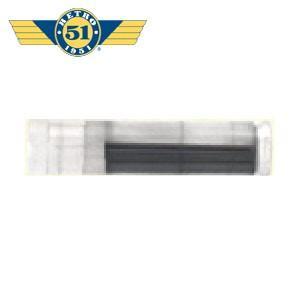 替芯 レトロ51 1.15ミリ ペンシル替芯 20本入り 消耗品 REF90-L|nomado1230