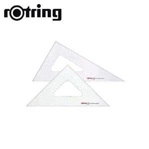 製図用品 ロットリング 三角定規2枚組 15センチ 製図用品 N83015|nomado1230