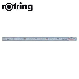 製図用品 ロットリング ステンレス直定規 60センチ 製図用品 N87060|nomado1230