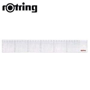 製図用品 方眼 ロットリング 方眼カッティングスケール 45センチ 製図用品 N91045|nomado1230