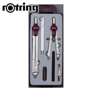 製図用品 ロットリング テレスコピック 7点セット 製図用品 No. 5302230|nomado1230