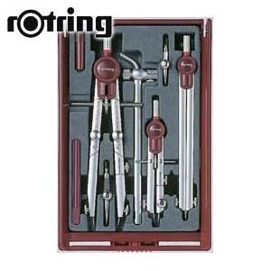 製図用品 ロットリング テレスコピック 9点セット 製図用品 No. 5302340|nomado1230