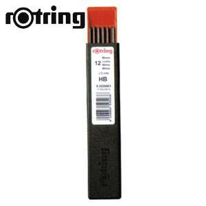替芯 ロットリング ホルダー用替芯 12本入 HB R505208|nomado1230