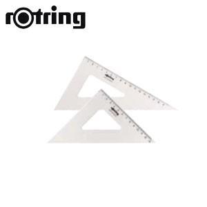製図用品 ロットリング セントロ三角定規2枚組 25センチ 製図用品 R823525|nomado1230