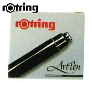 万年筆 インク ロットリング 即納 アートペン インク カートリッジ6本入 ブラック SO194751|nomado1230