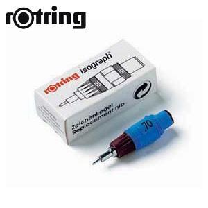 製図用品 ロットリング イソグラフIPL スペアニブ 製図ペン S0218250|nomado1230