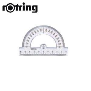 製図用品 ロットリング 分度器 半円 製図用品 SO221230|nomado1230
