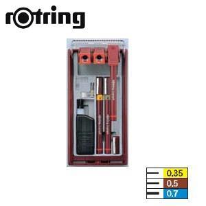 製図用品 ロットリング 長期欠品中入荷未定予約受付中 イソグラフIPLセット 3本セット ISO線幅 製図ペン SO226680|nomado1230