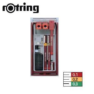 製図用品 ロットリング イソグラフIPLセット 3本セット 一般線幅 製図ペン SO226720|nomado1230