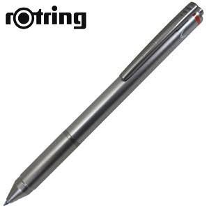 高級 マルチペン 名入れ ロットリング フォーインワン グラファイト 多機能ペン No. 1904455|nomado1230