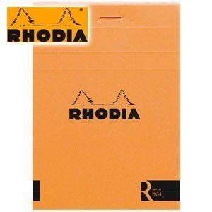 ノート 横罫 ロディア ブロックR by RHODIA No.11 横罫 9冊+1冊サービスセット オレンジ cf112011|nomado1230