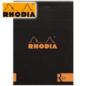 ノート 横罫 ロディア ブロックR by RHODIA No.11 横罫 9冊+1冊サービスセット ブラック cf112012|nomado1230