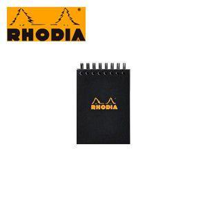 ブロックメモ ロディア クラシック ノートパッド No.11 ダブルリング ブラック 9冊+1冊サービスセット CF115009|nomado1230