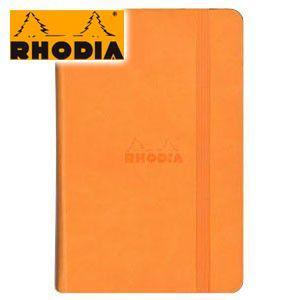 ノート A6 横罫 ロディア WEBNOTEBOOK ウェブノートブック 横罫 A6 3冊セット オレンジ CF118068|nomado1230