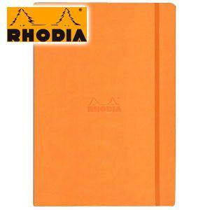ノート A4 横罫 ロディア WEBNOTEBOOK ウェブノートブック 横罫 A4 2冊セット オレンジ CF118368 nomado1230