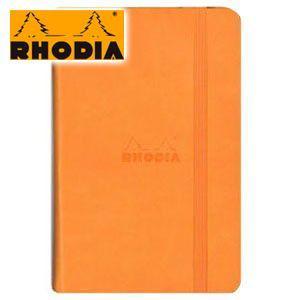 ノート A6 方眼 ロディア WEBNOTEBOOK ウェブノートブック ドット方眼 A6 3冊セット オレンジ CF118568 nomado1230